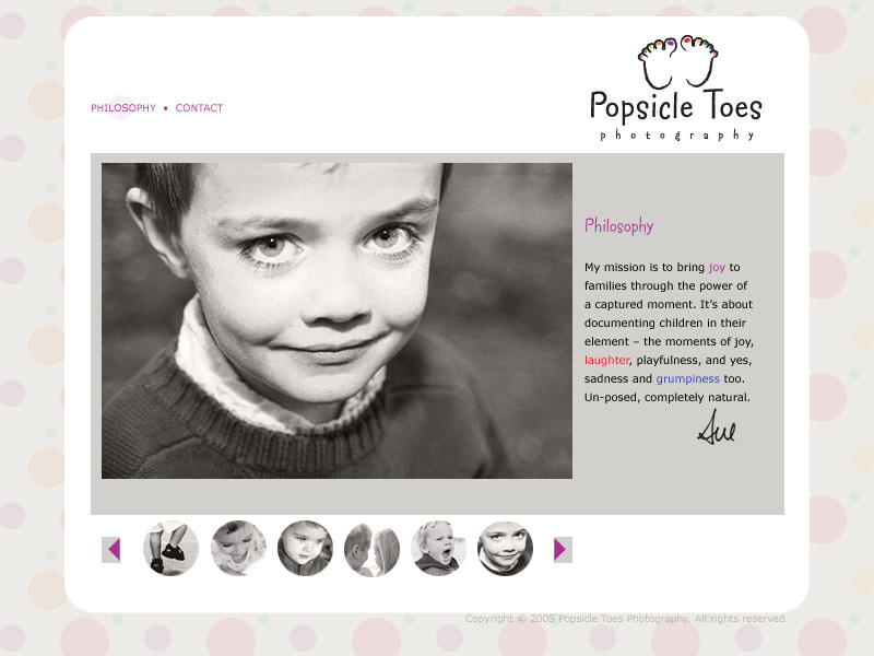 sample web page
